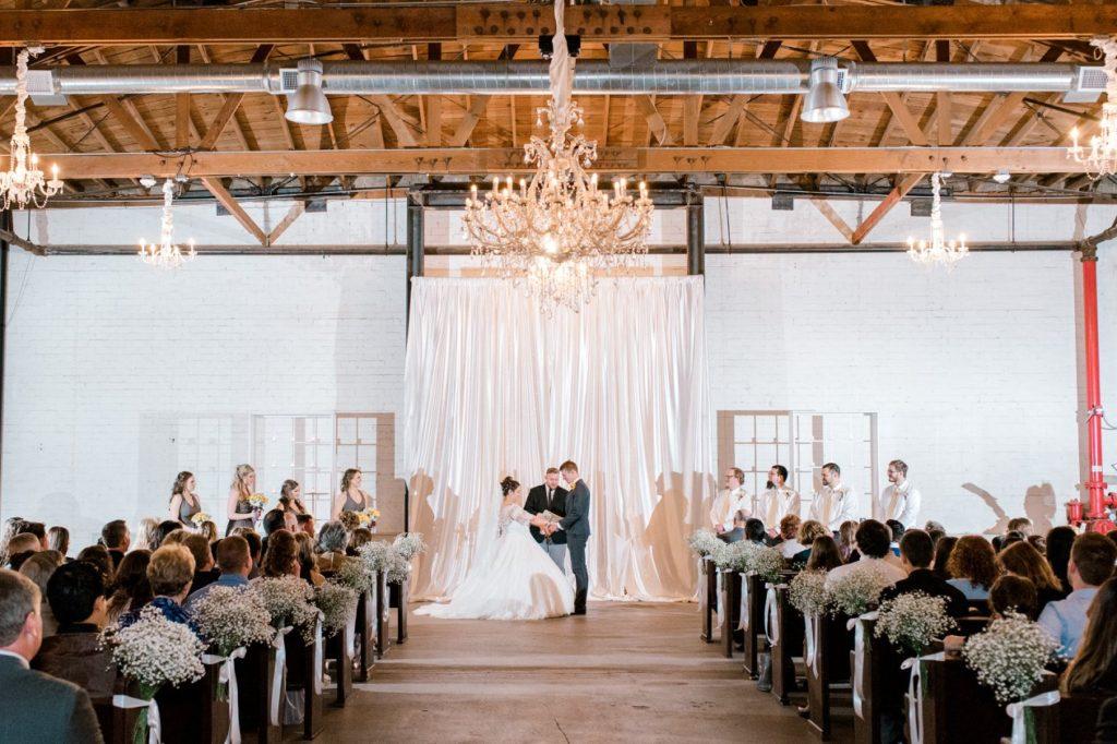 the Croft downtown Phoenix industrial wedding venue