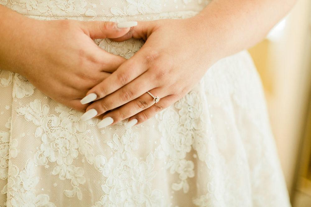 wedding nails manicure plus size lace wedding dress