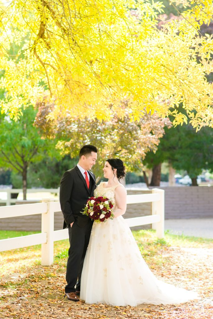 Gold wedding dress with straps real curvy bride Tempe, Arizona