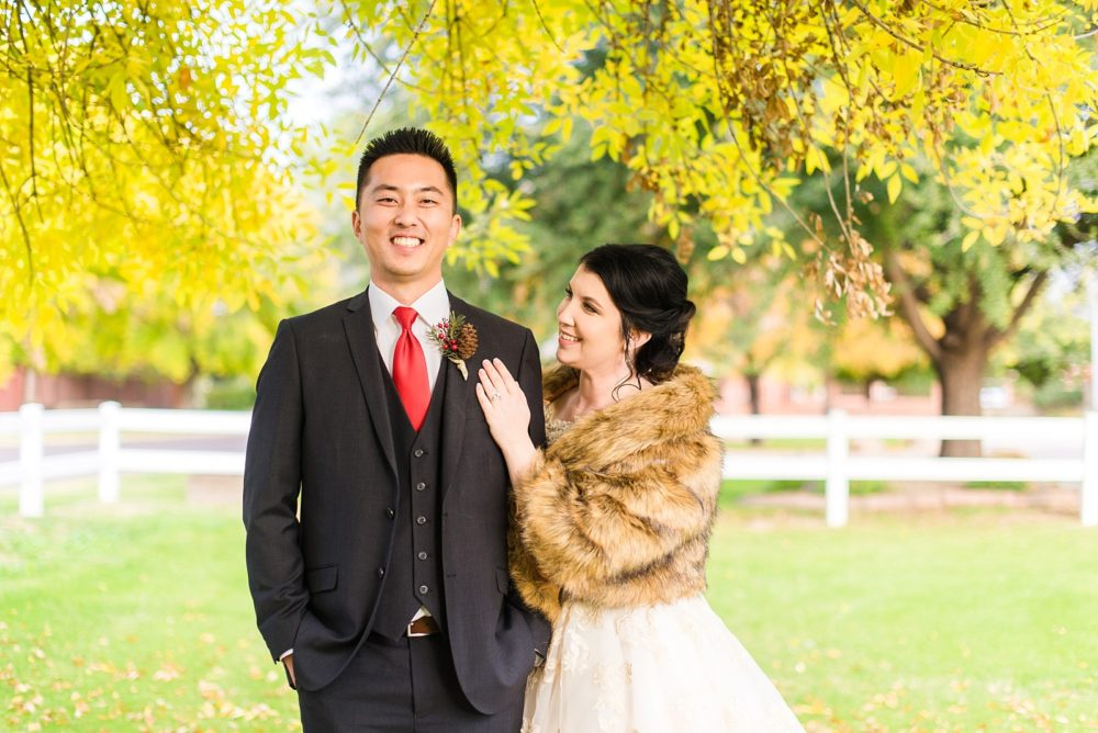 Brenna's Lumberjack Chic Arizona Wedding