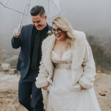 Autumn's Rainy California Vineyard Wedding