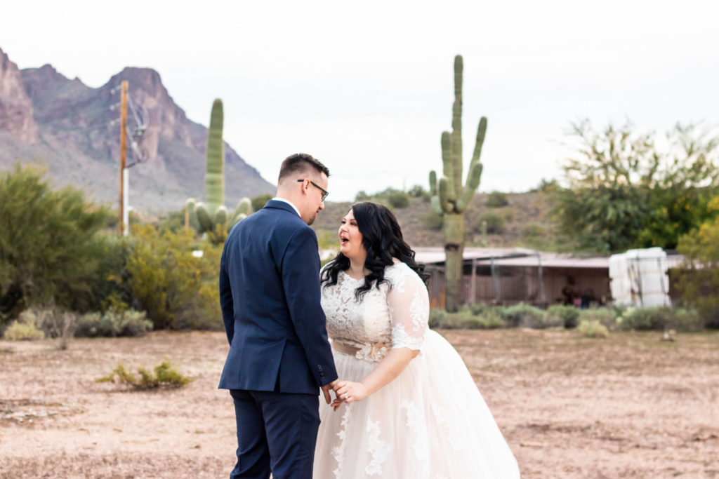 happy plus size bride tempe, az