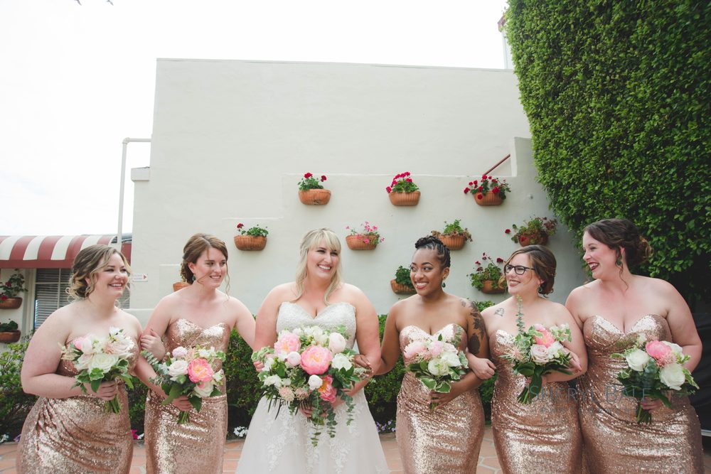 plus size sequin bridesmaid dresses