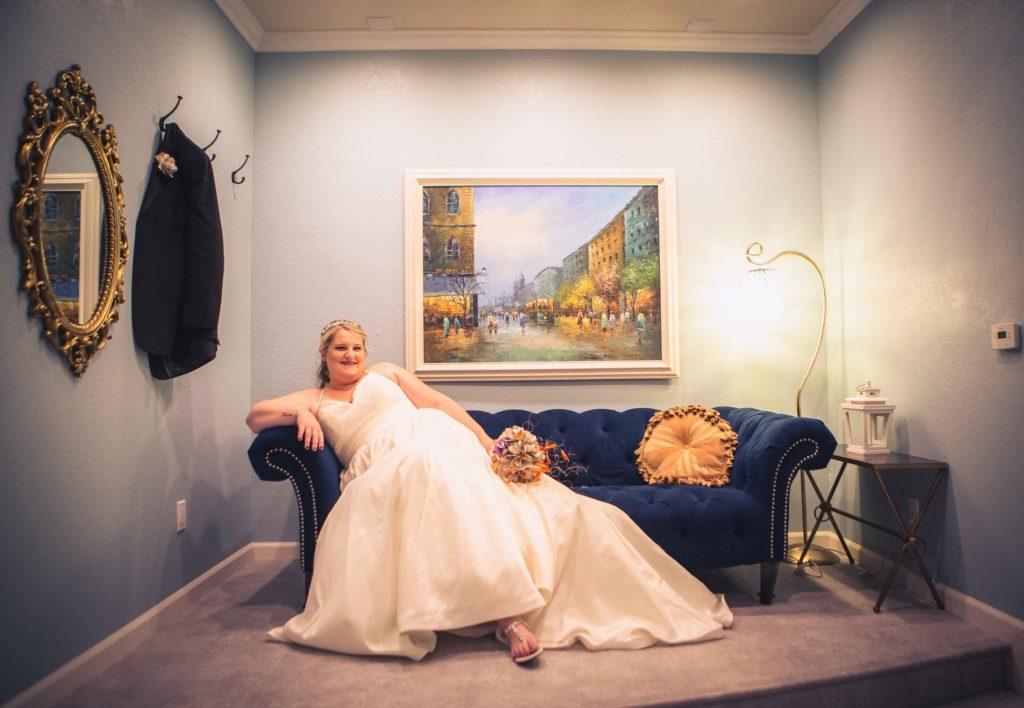 plus size wedding dress Los Angeles bridal store