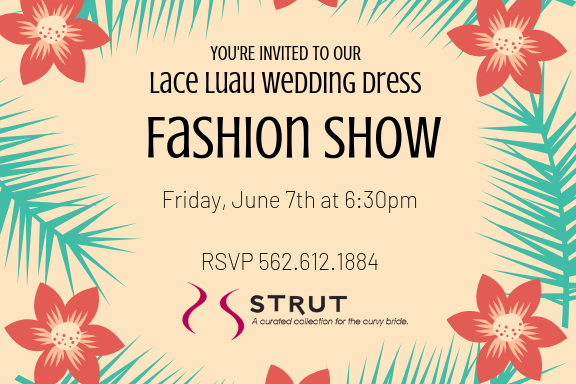 Plus Size Wedding Dress Fashion Show