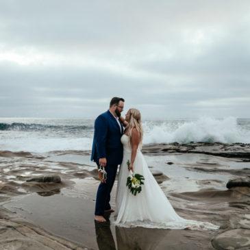 Stephanie's Beach Wedding Dress