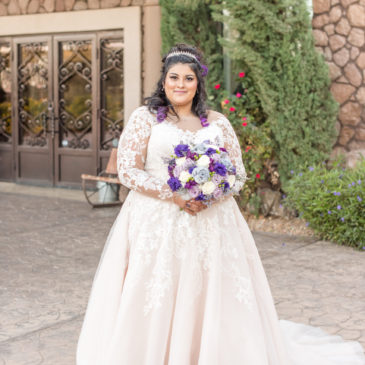 Anisa's Long Sleeve Ballgown Wedding Dress