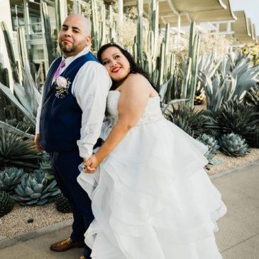Angela's Ruffled Ballgown Wedding Dress