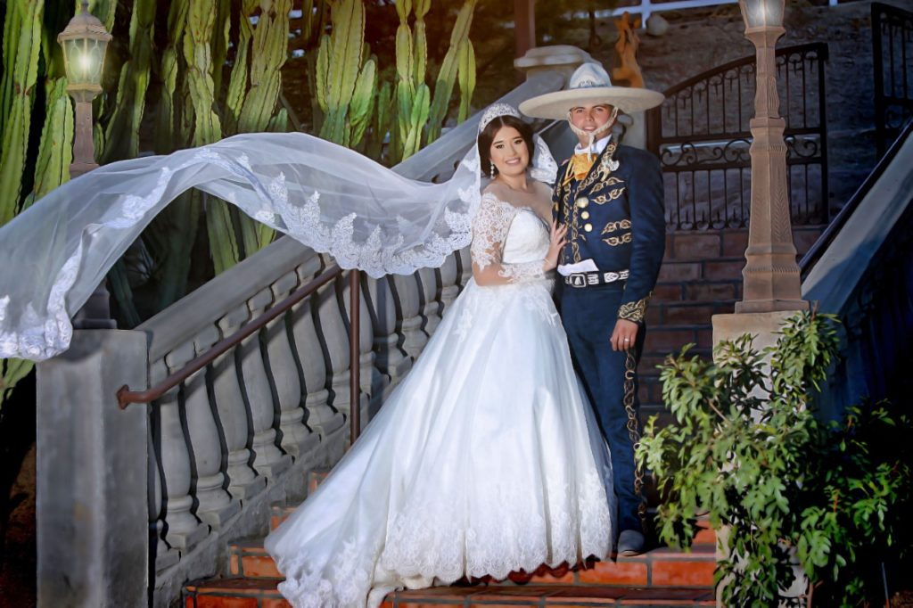 traditional-mexican-wedding-charro-ballgown-wedding-dress