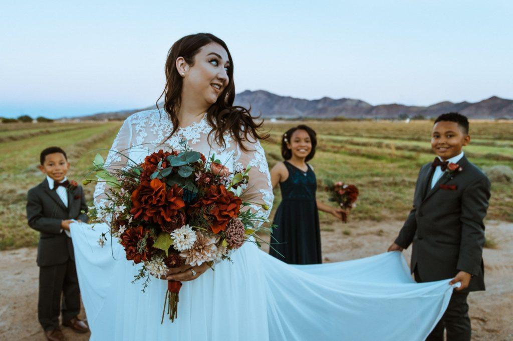 long-sleeve-wedding-dress-chiffon-bottom
