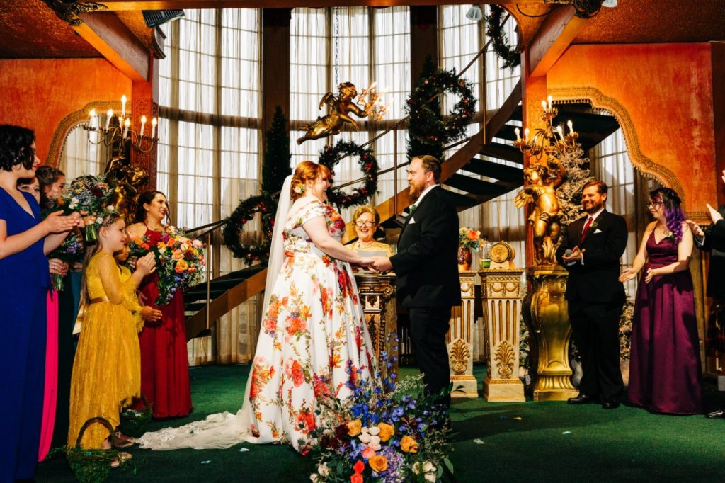 madonna-inn-wedding-ceremony-on-stage