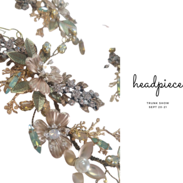 Virtual Headpiece Trunk Show Sept. 21st